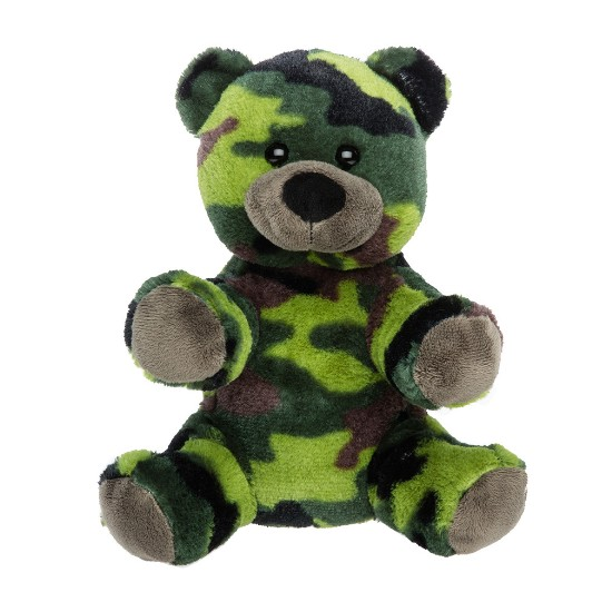 stuffable camo bear